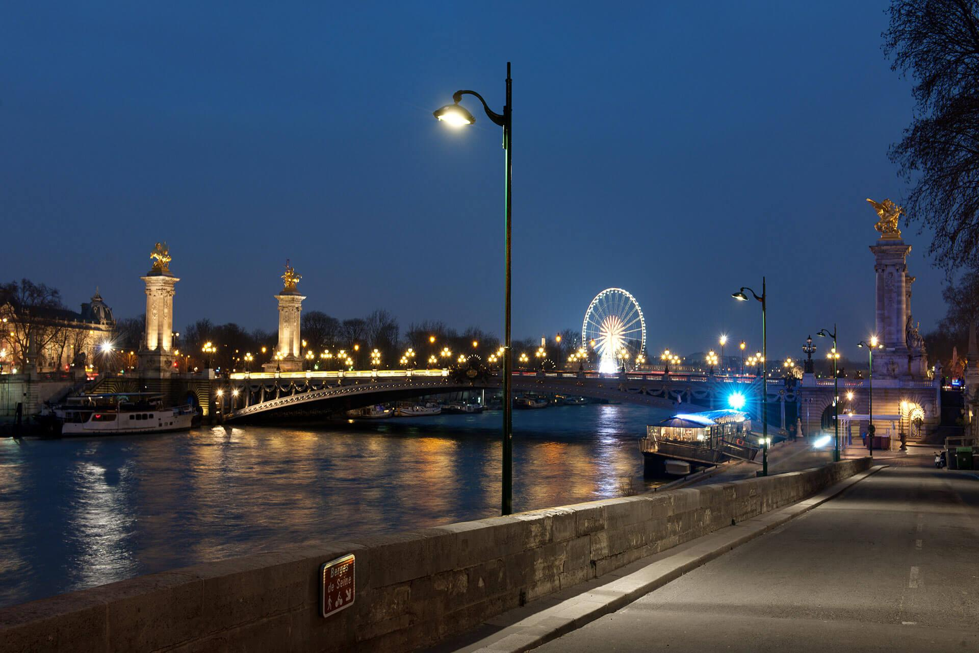 Citea NG lights the city of Paris, reducing its energy costs and carbon footprint